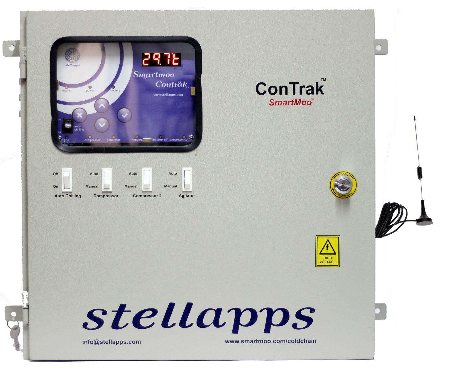 Contrôle de la chaine du froid avec ConTrak