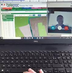 Réalisation de rdv à distance grâce à une solution de partage d'écran