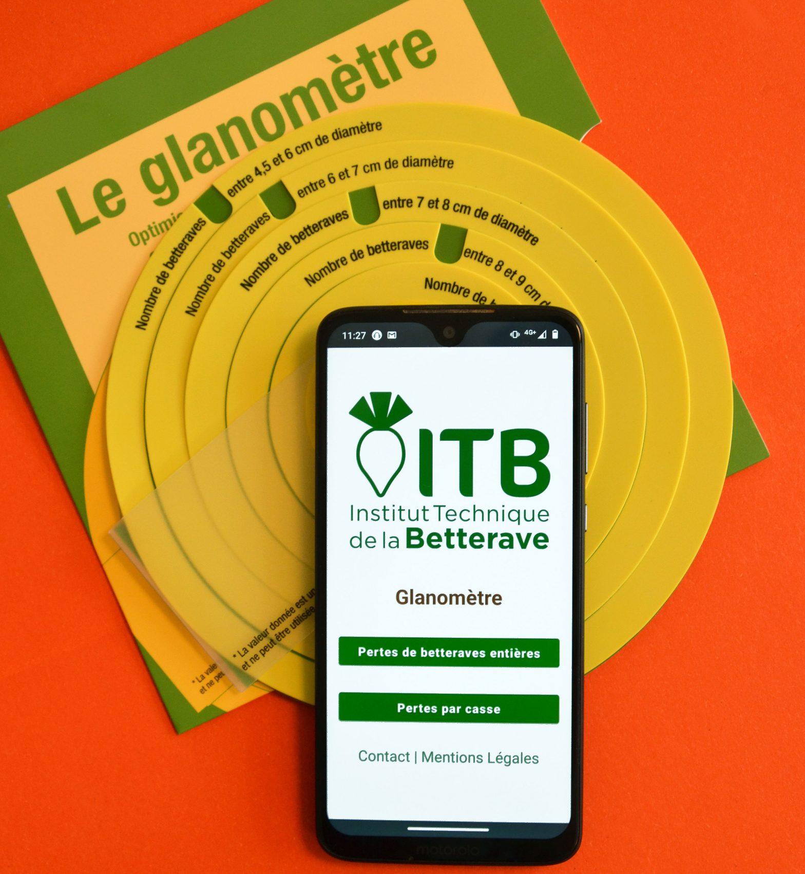 Réglez vos machines sur smartphone avec le glanomètre