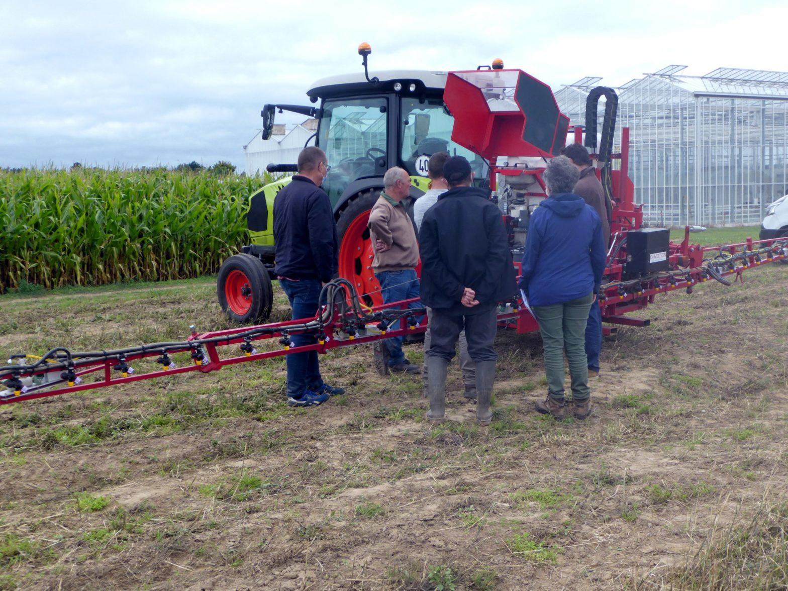 RAP-ID, réseau de compétences dédié à l'agriculture de précision – Application à l'évolution de la pulvérisation en cultures légumières