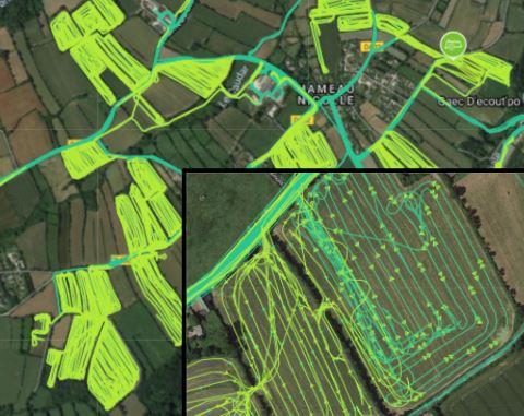 Performance des chantiers : valorisation de données issues de boîtiers traceurs