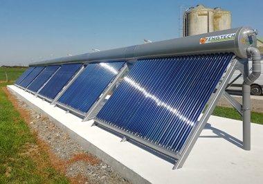 Icare4Farms - Energie solaire thermique à la ferme